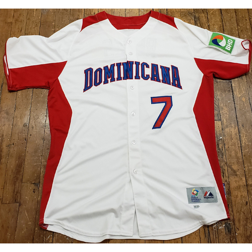 Photo of 2013 World Baseball Classic Game Used Jersey - Jose Reyes - Size 46 (Dominicana)