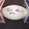 NFL - 49ers Richie James signed  panel ball