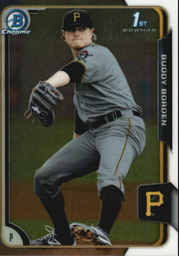 Photo of 2015 Bowman Chrome Prospects #BCP63 Buddy Borden