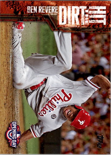 Photo of 2015 Topps Opening Day Hit the Dirt #HTD10 Ben Revere