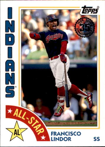 Photo of 2019 Topps '84 Topps All Stars #84ASFL Francisco Lindor