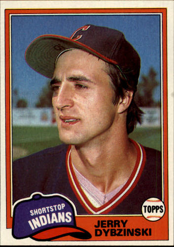 Photo of 1981 Topps #198 Jerry Dybzinski RC