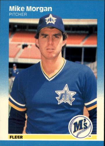 Photo of 1987 Fleer #591 Mike Morgan