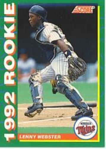 Photo of 1992 Score Rookies #17 Lenny Webster
