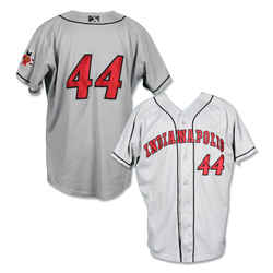 Photo of #44 Steve Baron Game Worn Road Jersey