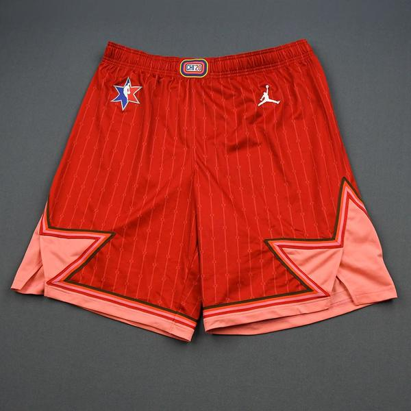 Image of KyleLowry - 2020 NBA All-Star - Game-Worn Shorts - Team Giannis - 1st and 2nd Quarter