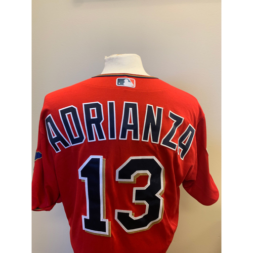 Photo of Minnesota Twins - 2019 Game-Used Spring Training Jersey - Ehire Adrianza