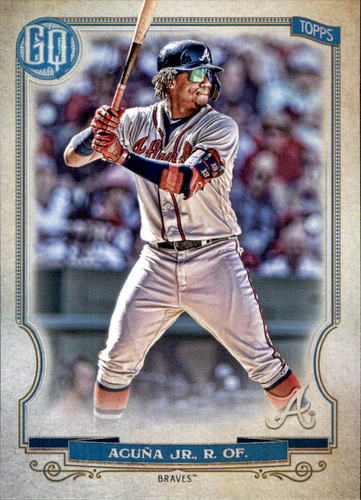 Photo of 2020 Topps Gypsy Queen #187 Ronald Acuna Jr.