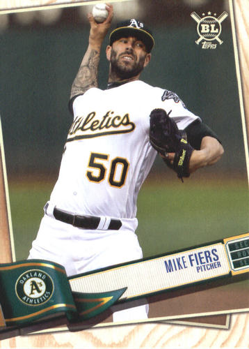 Photo of 2019 Topps Big League #330 Mike Fiers