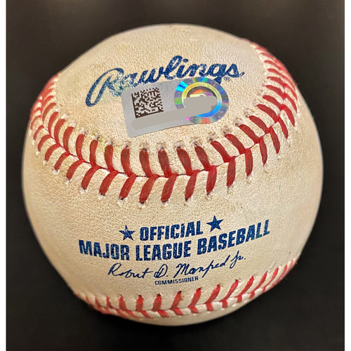 Photo of JaCoby Jones Detroit Tigers Double Baseball (MLB AUTHENTICATED)