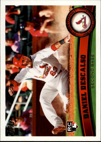 Photo of 2011 Topps #87 Daniel Descalso RC