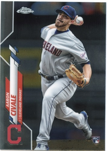 Photo of 2020 Topps Chrome #143 Aaron Civale RC