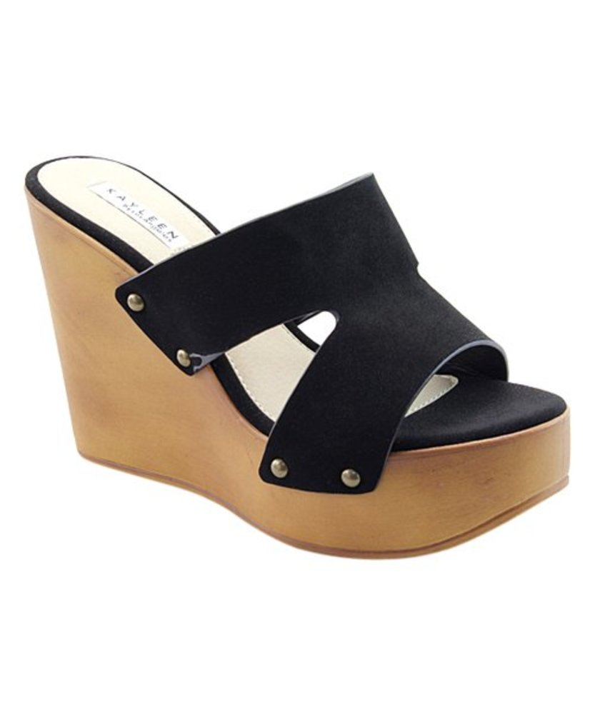 Photo of Kayleen Cutout Chrissy Wedge Sandal