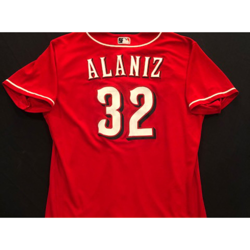 Photo of R.J. Alaniz -- 2020 Spring Training Jersey -- Team-Issued -- Size 48