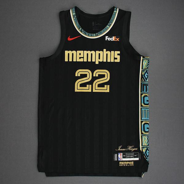 Image of Desmond Bane - Memphis Grizzlies - Game-Worn City Edition Jersey - 2021 NBA Playoffs