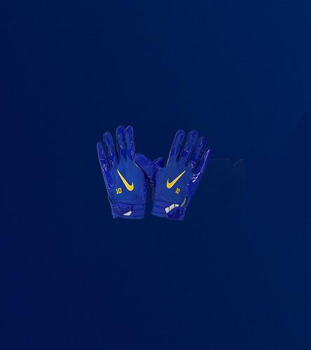 Photo of Cooper Kupp Game Used Gloves - (10/17/2021 VS. New York Giants)