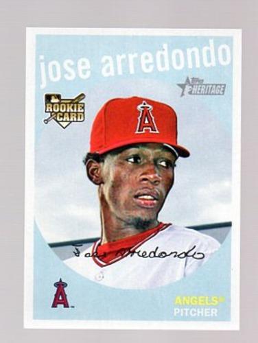 Photo of 2008 Topps Heritage #638 Jose Arredondo RC