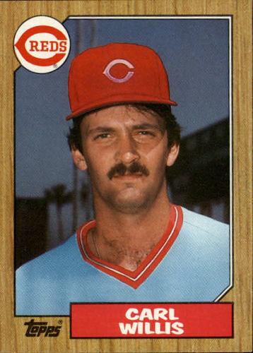 Photo of 1987 Topps #101 Carl Willis RC