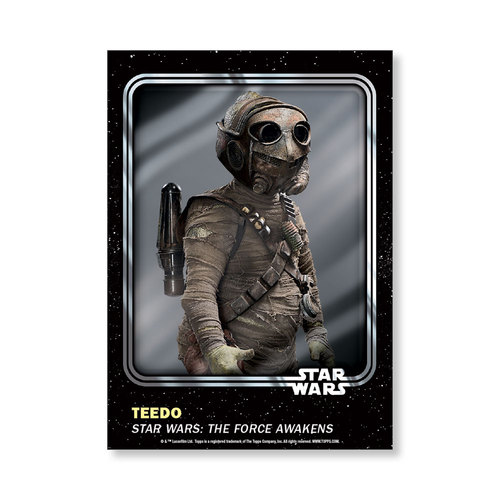 Teedo 2016 Star Wars Card Trader Base Poster - # to 99