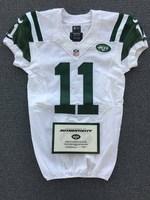 New York Jets - 2014 #11 Jeremy Kerley Game Worn Jersey