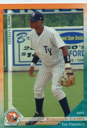 Photo of 2003 Florida State League Top Prospects Grandstand #13 Robinson Cano