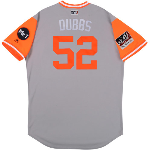 "Photo of Rich ""Dubbs"" Dubee Detroit Tigers 2017 Team-Issued Players Weekend Jersey"