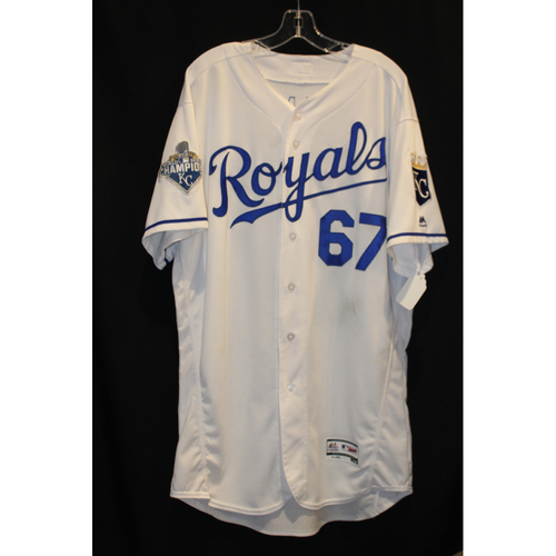 Game-Used Jersey: Chien-Ming Wang (Size 50 - CLE at KC - 7/19/16)