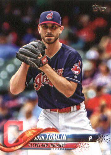 Photo of 2018 Topps #27 Josh Tomlin