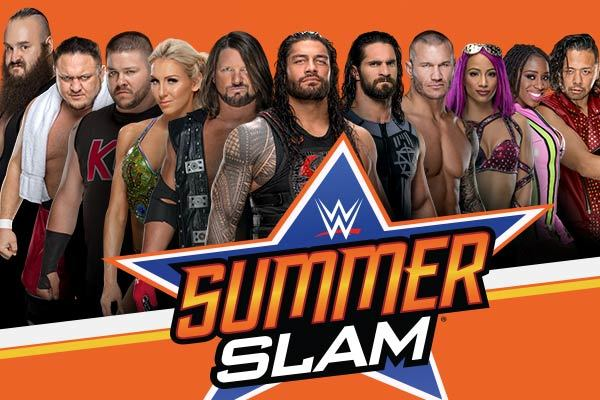 Clickable image to visit WWE SummerSlam 2018 at Barclays Center - Brooklyn, New York