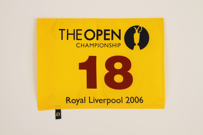Photo of The 135th Open Official Souvenir Pin Flag - Royal Liverpool 2006