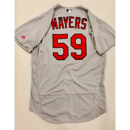 Photo of 2019 Mexico Series Game Used Jersey - Mike Mayers Size 46 (St. Louis Cardinals)