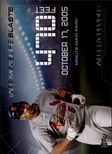 Photo of 2015 Topps Update Tape Measure Blasts #TMB13 Albert Pujols