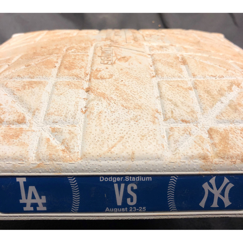 Photo of Game-Used Yankees Series Base