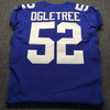 Crucial Catch - Giants Alec Ogletree Game Used Jersey W/ Captains Patch Washed By Equipment Manager Size 42