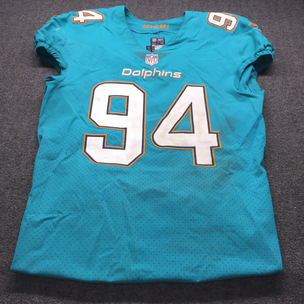 NFL Auction | STS - Dolphins Lawrence Timmons Game Used Jersey W ...