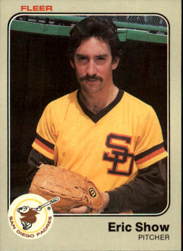 Photo of 1983 Fleer #372 Eric Show RC