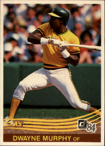 Photo of 1984 Donruss #101 Dwayne Murphy