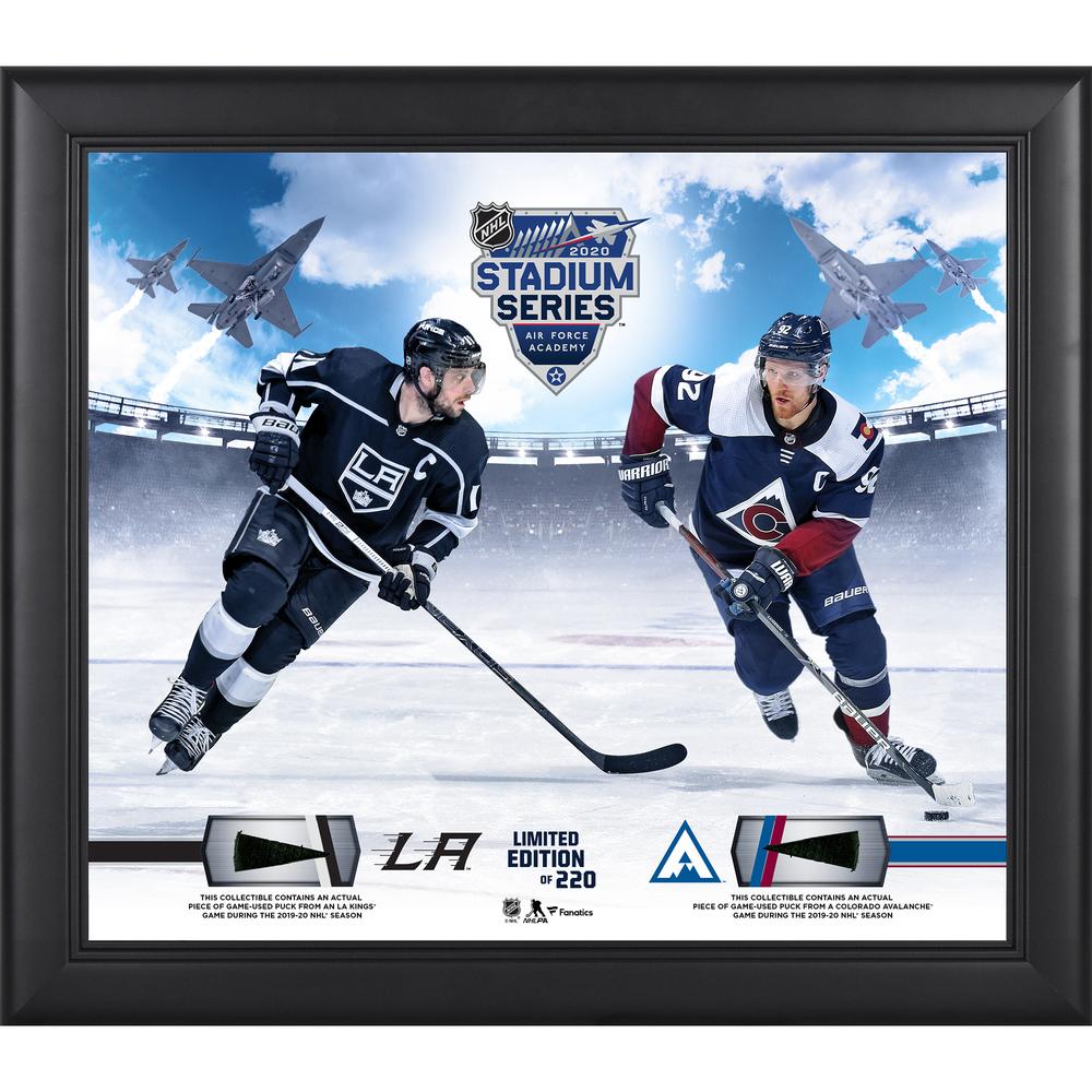 2020 NHL Stadium Series Los Angeles Kings vs. Colorado Avalanche Framed 15