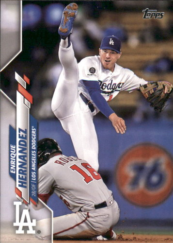 Photo of 2020 Topps #135 Enrique Hernandez