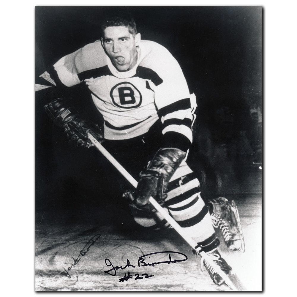 Jack Bionda Boston Bruins Autographed 8x10 Photo