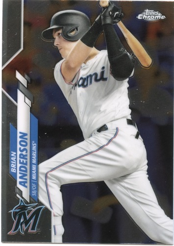 Photo of 2020 Topps Chrome #146 Brian Anderson