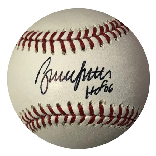 Photo of Cardinals Authentics: Bruce Sutter Autographed & Inscribed Baseball