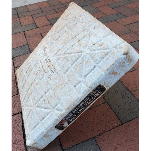 Photo of 2nd Base: Game Used (Innings 1-9 - 9/28/21 vs. Red Sox)