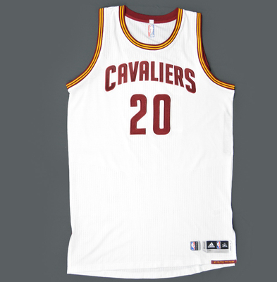 a0bac0e8ca29 Timofey Mozgov - Cleveland Cavaliers - Game-Worn Jersey - 2015 NBA Eastern  Conference Semi