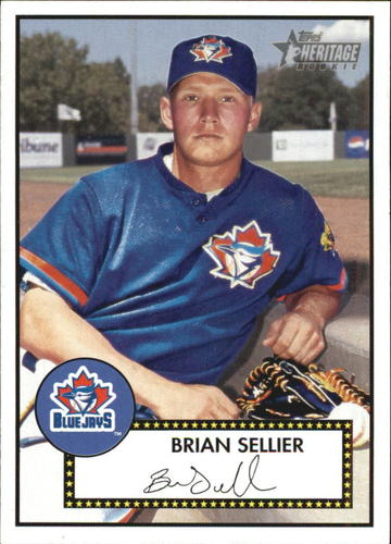 Photo of 2001 Topps Heritage #119 Brian Sellier RC