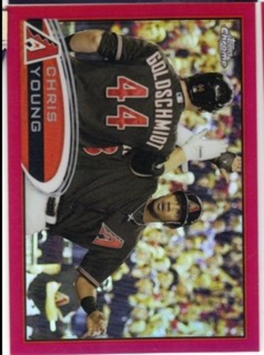Photo of 2012 Topps Chrome Red Refractors #145 Chris Young