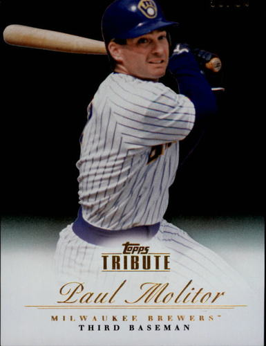 Photo of 2012 Topps Tribute Black #55 Paul Molitor