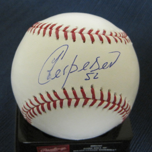 UMPS CARE AUCTION: Yoenis Cespedes Signed Baseball