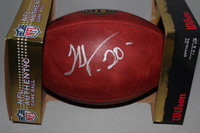 NFL - JETS THOMAS JONES SIGNED AUTHENTIC FOOTBALL