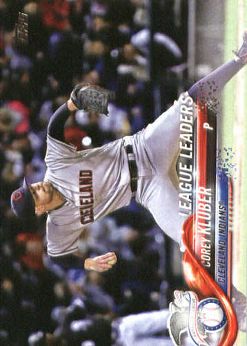Photo of 2018 Topps #37 Corey Kluber LL
